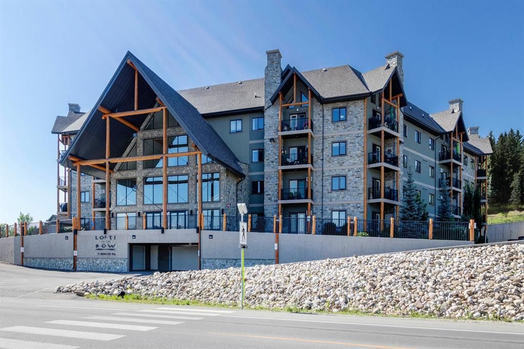 Main Photo: 306 77 George Fox Trail: Cochrane Apartment for sale : MLS®# A1139159