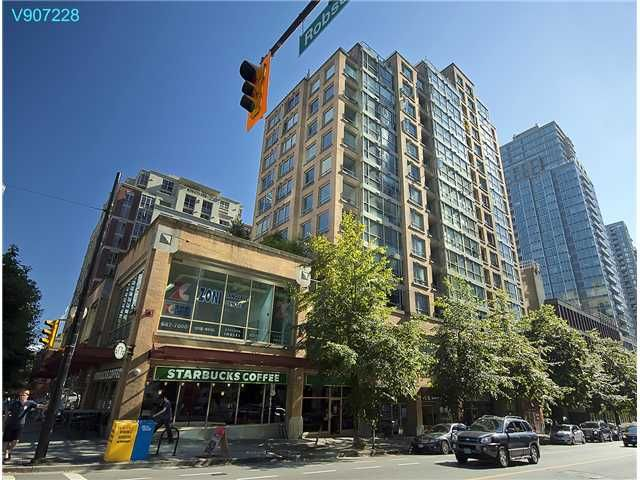 Main Photo: 402 822 Homer Street in Vancouver: Downtown VW Condo for sale (Vancouver West)  : MLS®# V907228