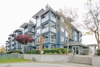 "Photo 1: 118 12931 RAILWAY Avenue in Richmond: Steveston South Condo for sale in ""BRITANNIA"" : MLS®# R2219622"