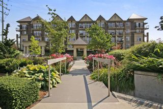 """Photo 1: 408 8531 YOUNG Road in Chilliwack: Chilliwack W Young-Well Condo for sale in """"AUBURN RETIREMENT"""" : MLS®# R2293451"""