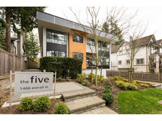 "Photo 1: 3 1466 EVERALL Street: White Rock Townhouse for sale in ""THE FIVE"" (South Surrey White Rock)  : MLS®# R2351081"