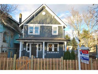 Main Photo: 753 E 11TH AV in Vancouver: Mount Pleasant VE 1/2 Duplex for sale (Vancouver East)  : MLS®# V1027525