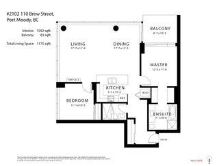 "Photo 32: 2102 110 BREW Street in Port Moody: Port Moody Centre Condo for sale in ""Aria 1"" : MLS®# R2513087"