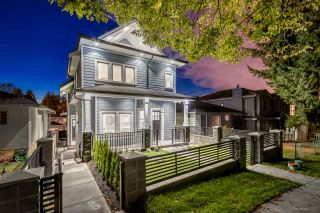 Photo 1: 5487 DUNDEE Street in Vancouver: Collingwood VE 1/2 Duplex for sale (Vancouver East)  : MLS®# R2229951