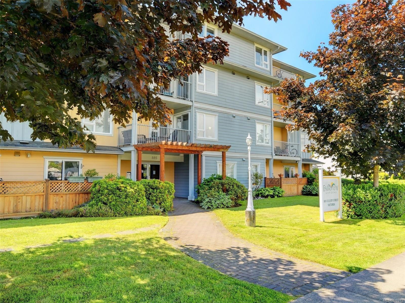 Main Photo: 402 885 Ellery St in : Es Old Esquimalt Condo for sale (Esquimalt)  : MLS®# 878212