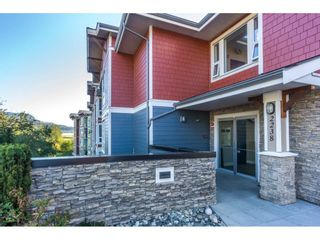 """Photo 2: 104 2238 WHATCOM Road in Abbotsford: Abbotsford East Condo for sale in """"Waterleaf"""" : MLS®# R2260128"""