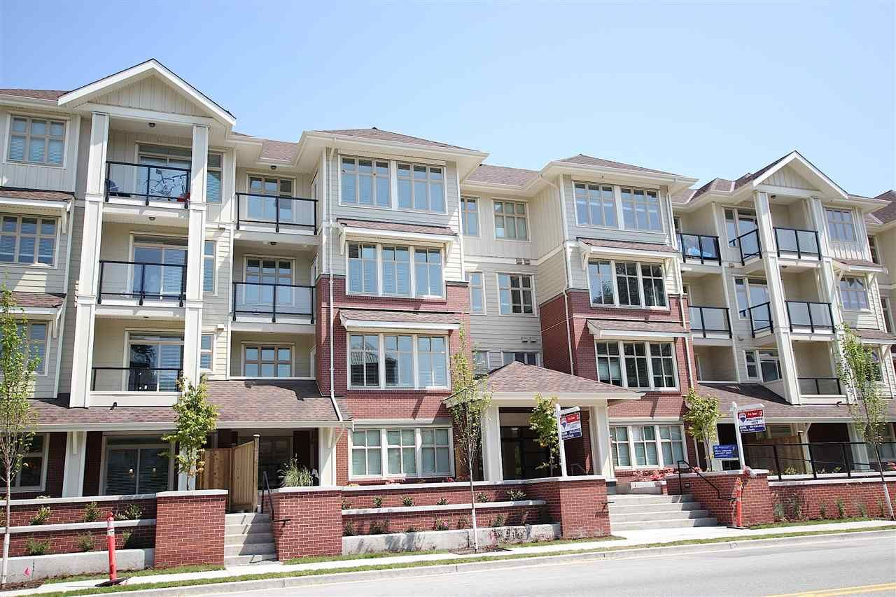 "Main Photo: 102 2330 SHAUGHNESSY Street in Port Coquitlam: Central Pt Coquitlam Condo for sale in ""AVANTI ON SHAUGNESSY"" : MLS®# R2042801"