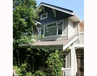 Photo 1: 1965 W 10TH Avenue in Vancouver: Kitsilano Townhouse for sale (Vancouver West)  : MLS®# V773523