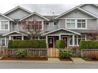 "Photo 1: 107 20449 66 Avenue in Langley: Willoughby Heights Townhouse for sale in ""Natures Landing"" : MLS®# R2440438"