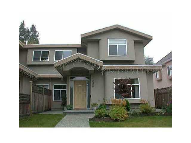 Main Photo: 7496 IMPERIAL STREET in : Highgate 1/2 Duplex for sale : MLS®# V921584