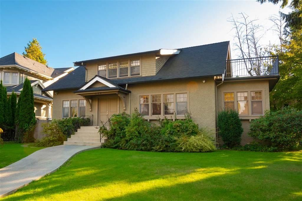 Main Photo: 1168 W 32ND AVENUE in : Shaughnessy House for sale : MLS®# R2430843
