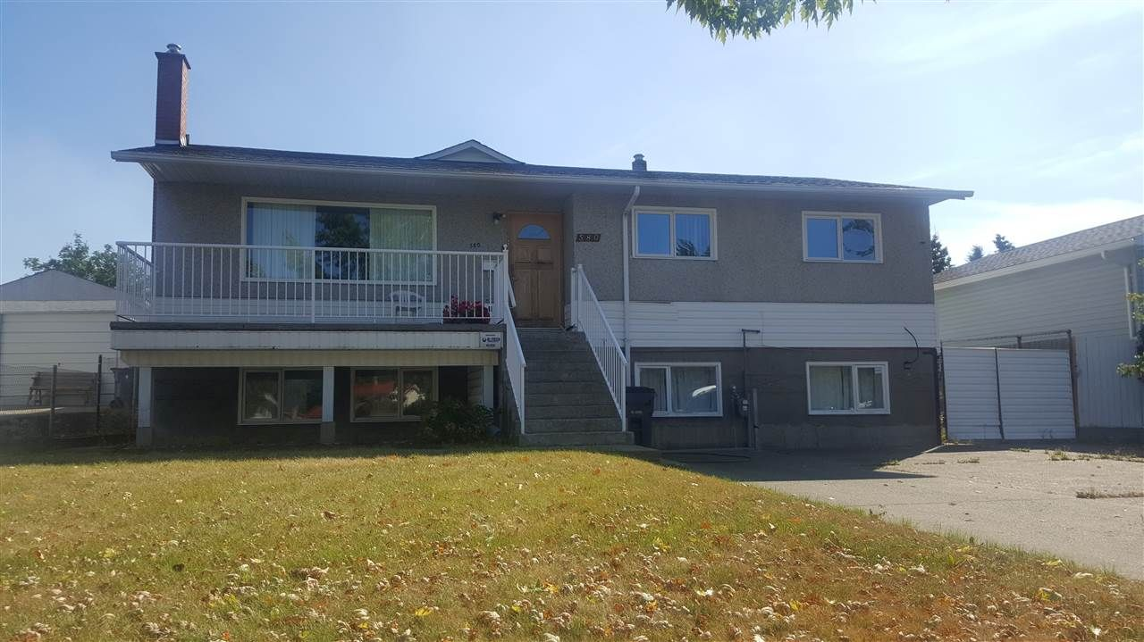 Main Photo: 580 UNION STREET in : Spruceland House for sale : MLS®# R2201166
