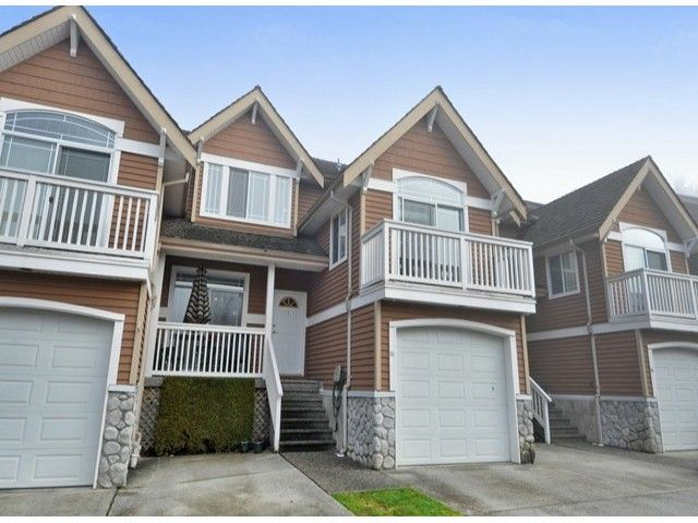 """Main Photo: 15 1506 EAGLE MOUNTAIN Drive in Coquitlam: Westwood Plateau Townhouse for sale in """"RIVER ROCK"""" : MLS®# V1099856"""