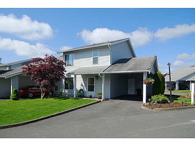 """Main Photo: 43 26970 32 Avenue in Langley: Aldergrove Langley Townhouse for sale in """"PARKSIDE"""" : MLS®# F1439995"""