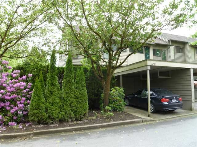 "Main Photo: 4792 CEDARGLEN Place in Burnaby: Greentree Village Townhouse for sale in ""GREENTREE VILLAGE"" (Burnaby South)  : MLS®# V833973"
