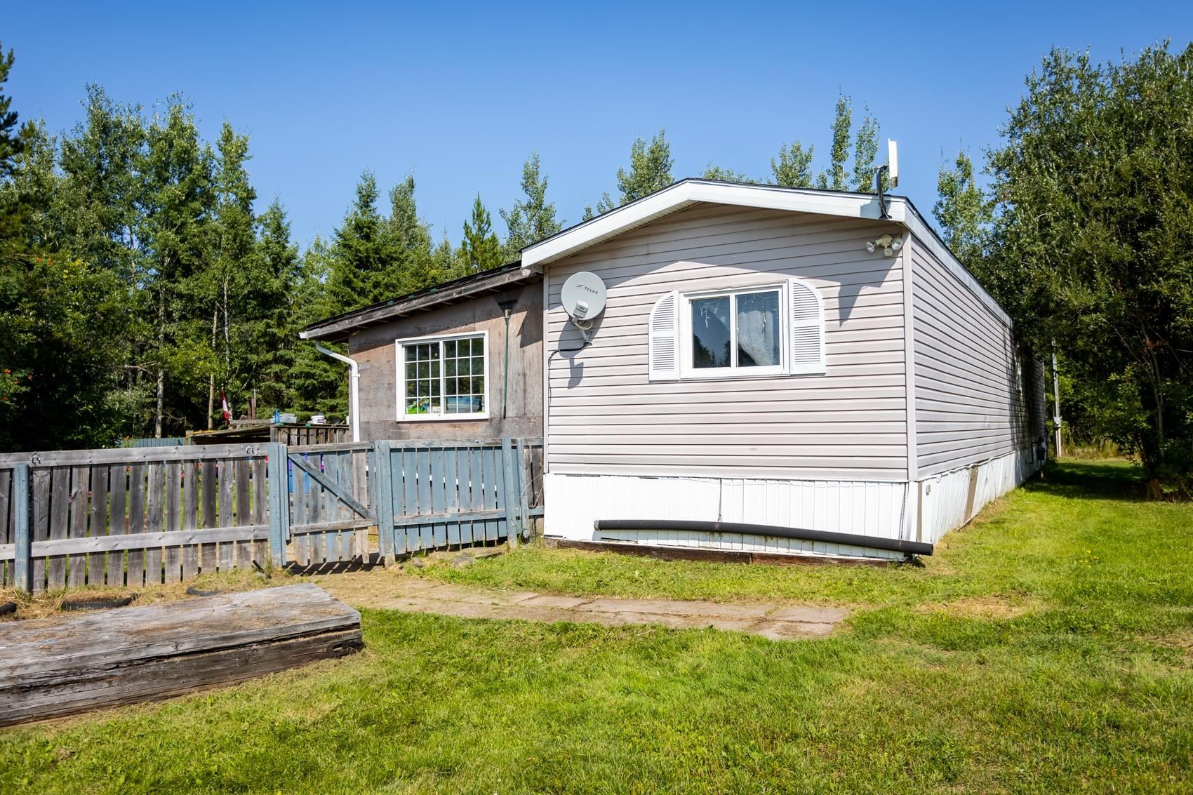 Main Photo: 8535 PINEGROVE Drive in Prince George: Pineview Manufactured Home for sale (PG Rural South (Zone 78))  : MLS®# R2612339