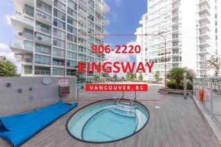 Main Photo: 906 2220 KINGSWAY Avenue in Vancouver: Victoria VE Condo for sale (Vancouver East)  : MLS®# R2525905