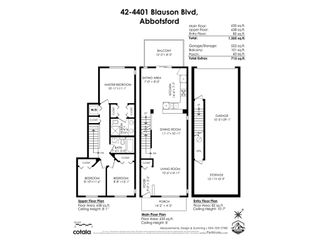 """Photo 38: 42 4401 BLAUSON Boulevard in Abbotsford: Abbotsford East Townhouse for sale in """"The Sage"""" : MLS®# R2554193"""