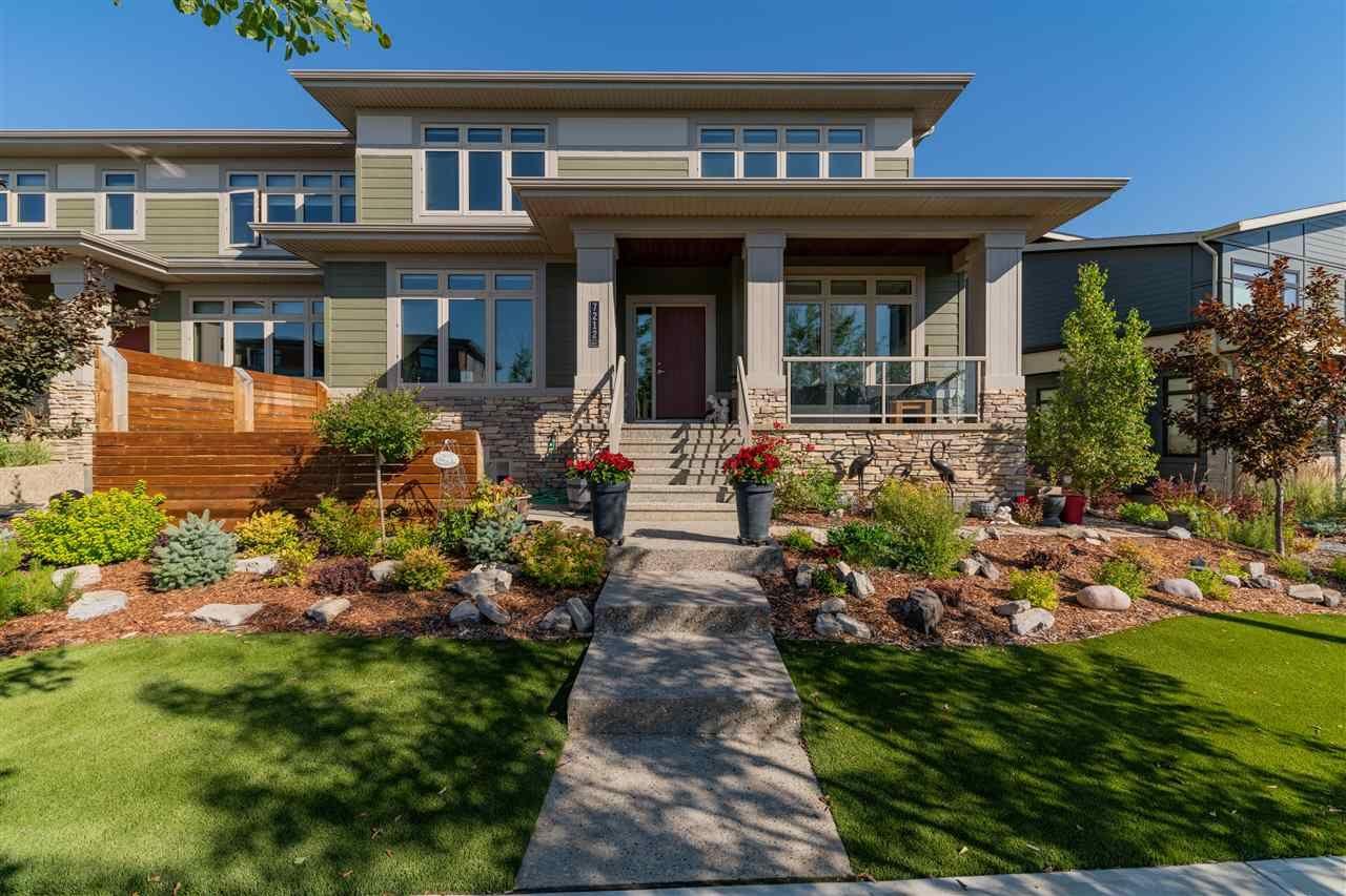 Main Photo: 7212 MAY Road in Edmonton: Zone 14 House Half Duplex for sale : MLS®# E4223733
