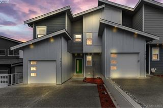 Photo 1: 7027 Brailsford Pl in SOOKE: Sk Sooke Vill Core Half Duplex for sale (Sooke)  : MLS®# 837005