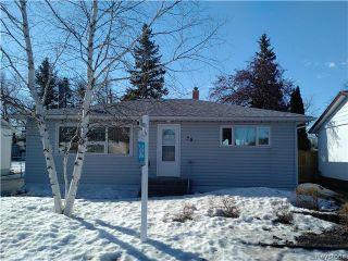 Photo 1: 506 Horton Avenue West in Winnipeg: West Transcona Residential for sale (3L)  : MLS®# 1705576
