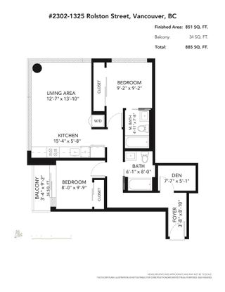 """Photo 18: 2302 1325 ROLSTON Street in Vancouver: Downtown VW Condo for sale in """"The Rolston"""" (Vancouver West)  : MLS®# R2569904"""