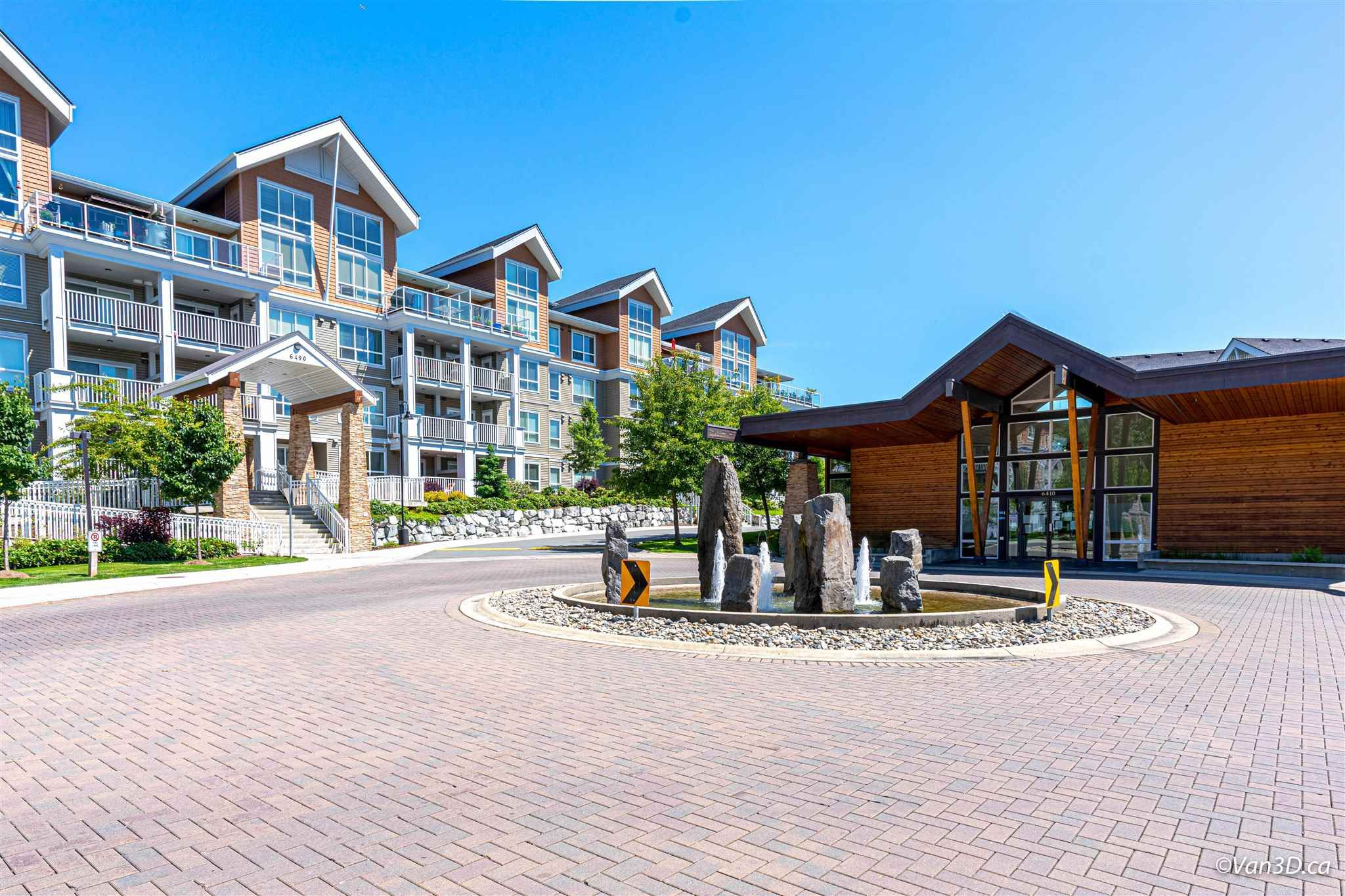 """Main Photo: 101 6490 194 Street in Surrey: Clayton Condo for sale in """"Waterstone"""" (Cloverdale)  : MLS®# R2601636"""