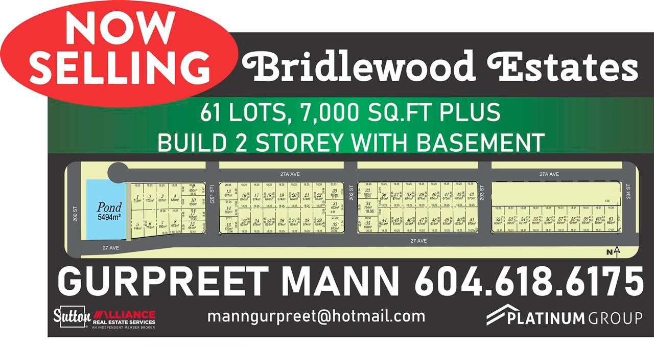 Main Photo: LT.6 200 STREET in Langley: Brookswood Langley Land for sale : MLS®# R2582299