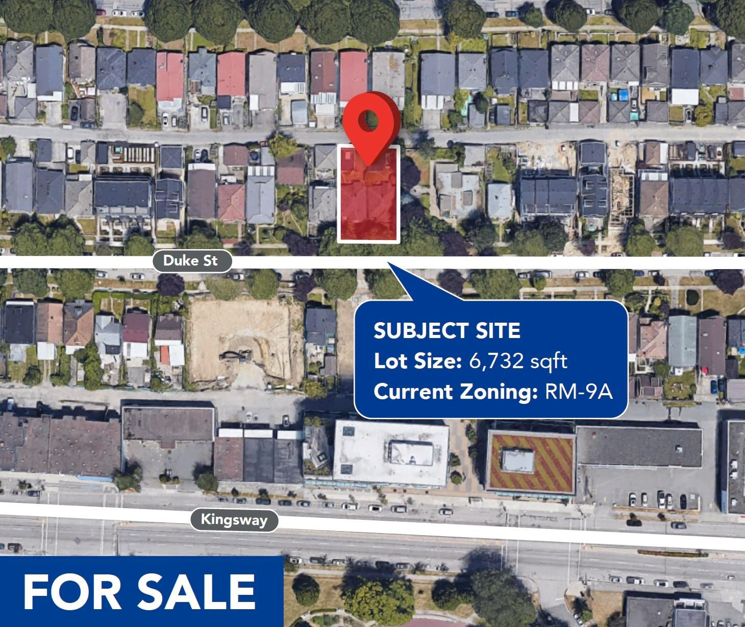 Main Photo: 2683 DUKE Street in Vancouver: Collingwood VE Land for sale (Vancouver East)  : MLS®# R2621359