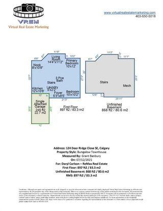 Photo 36: 124 Deer Ridge Close SE in Calgary: Deer Ridge Semi Detached for sale : MLS®# A1129488
