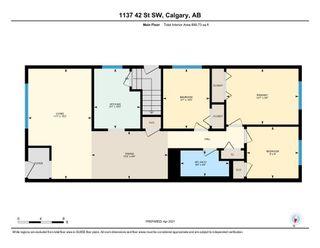 Photo 22: 1137 42 Street SW in Calgary: Rosscarrock Semi Detached for sale : MLS®# A1092044