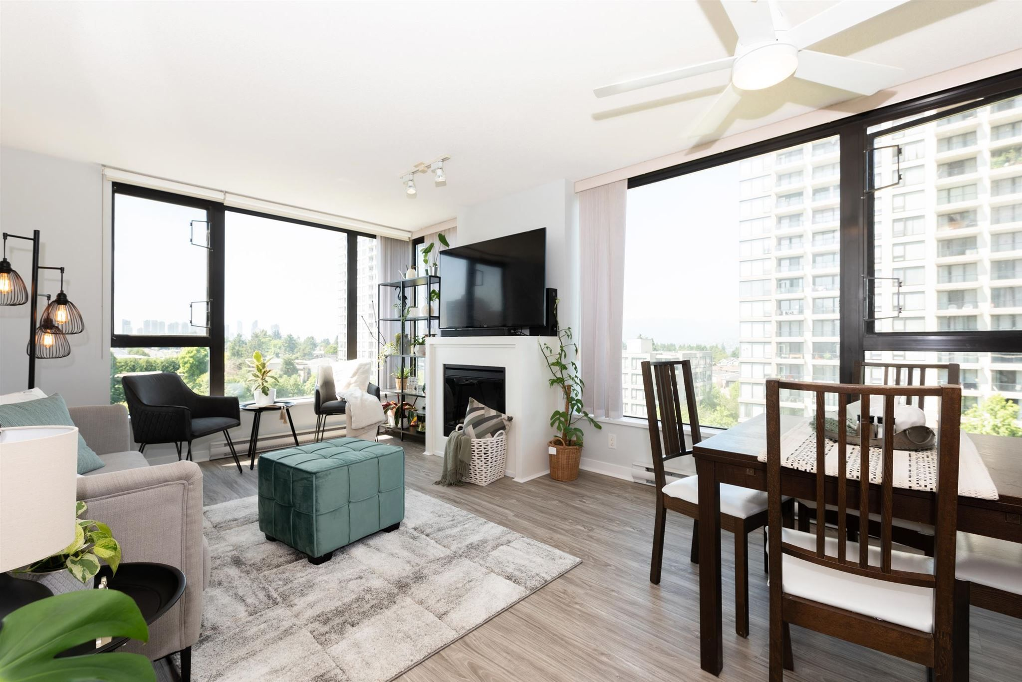 Main Photo: 802 7063 HALL Avenue in Burnaby: Highgate Condo for sale (Burnaby South)  : MLS®# R2603035