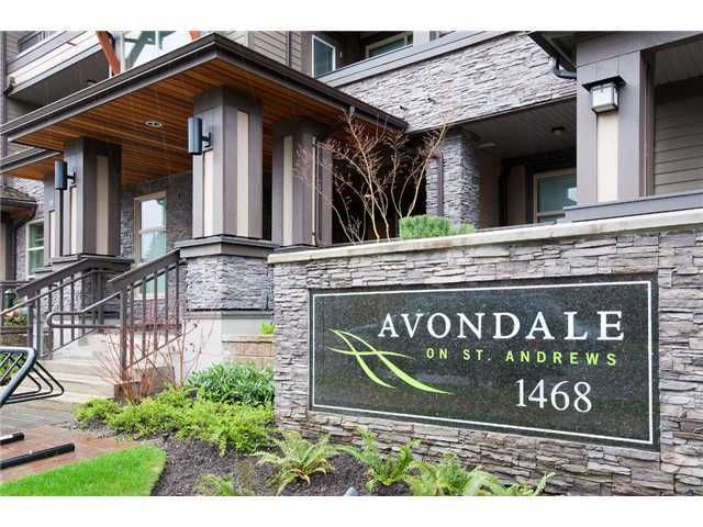 Main Photo: 310 1468 ST ANDREWS Avenue in North Vancouver: Central Lonsdale Condo for sale : MLS®# V901493