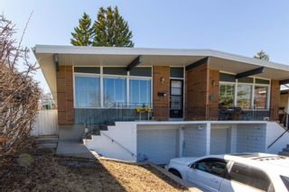 Main Photo: 41 Rosetree Road NW in Calgary: Rosemont Semi Detached for sale : MLS®# A1132123