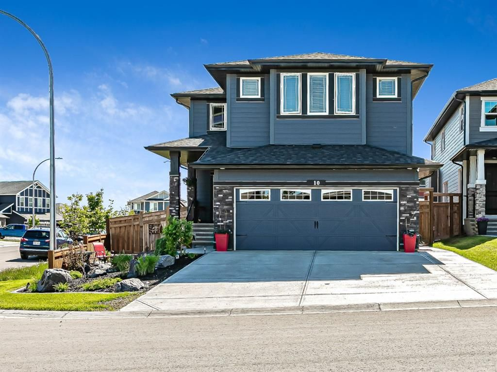 Main Photo: 10 Banded Peak View: Okotoks Detached for sale : MLS®# A1145559