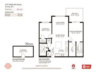 "Photo 20: 117 6490 194 Street in Surrey: Clayton Condo for sale in ""WATERSTONE - ESPLANADE"" (Cloverdale)  : MLS®# R2404179"