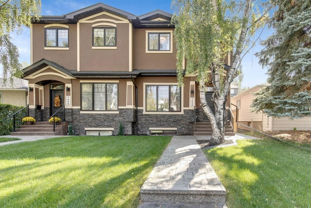 Main Photo: 1235 Rosehill Drive NW in Calgary: Rosemont Semi Detached for sale : MLS®# A1144779
