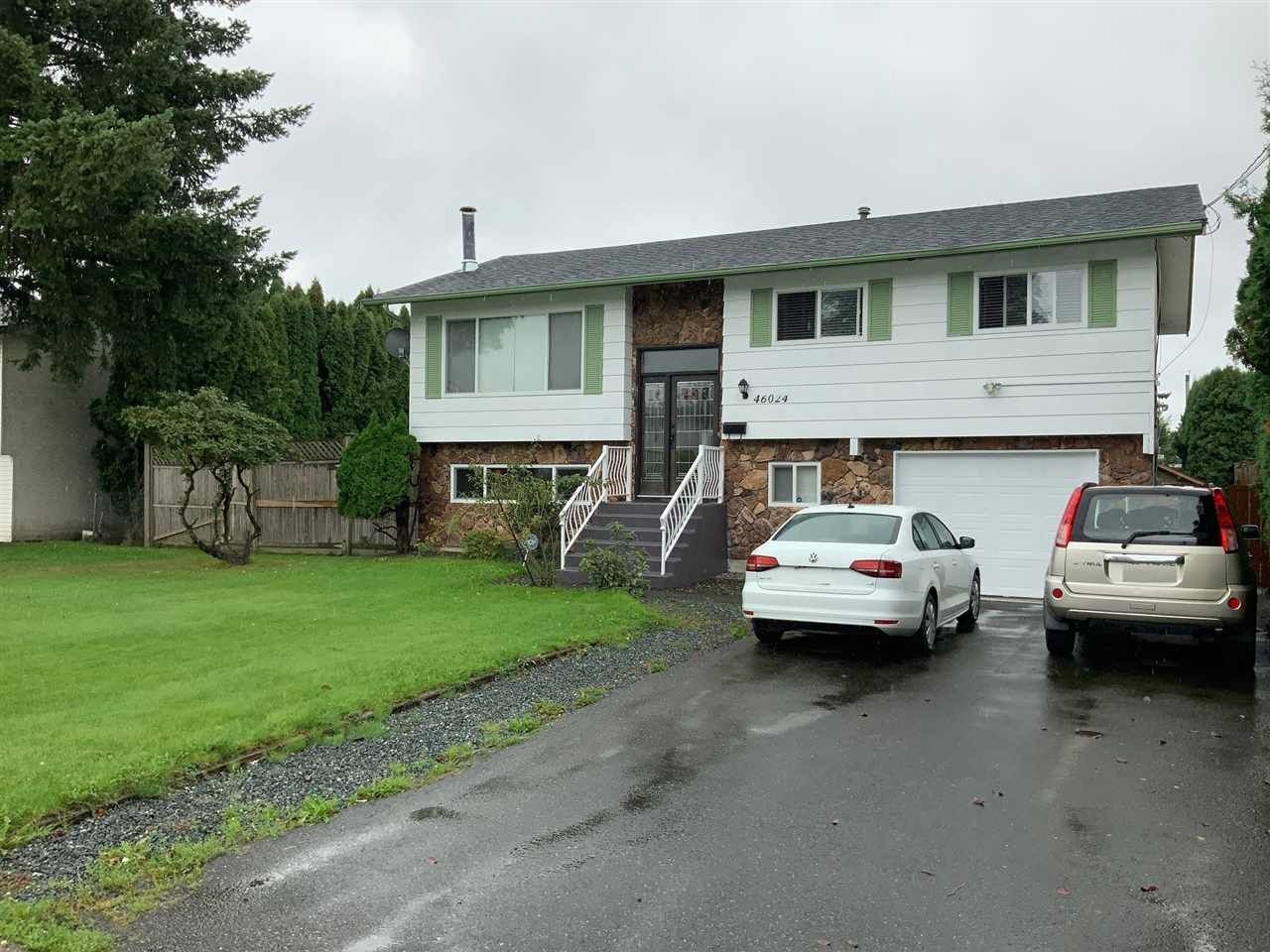 Main Photo: 46024 CLARE Avenue in Chilliwack: Fairfield Island House for sale : MLS®# R2407402