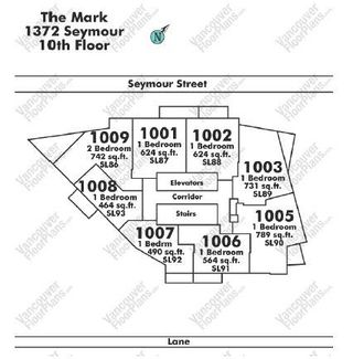 """Photo 16: 1001 1372 SEYMOUR Street in Vancouver: Downtown VW Condo for sale in """"THE MARK"""" (Vancouver West)  : MLS®# R2001462"""