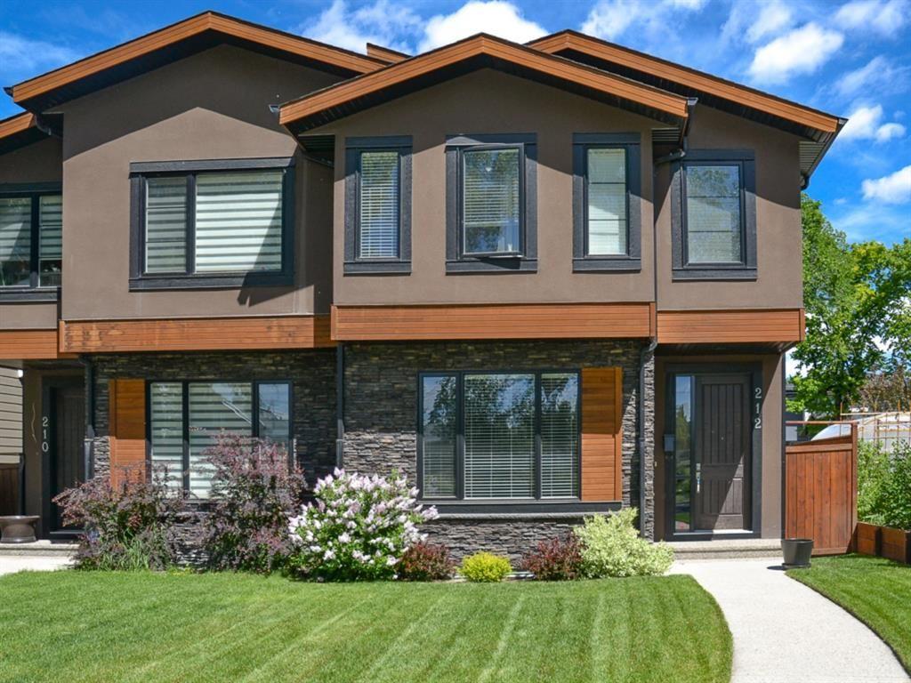 Main Photo: 212 30 Avenue NE in Calgary: Tuxedo Park Semi Detached for sale : MLS®# A1098120