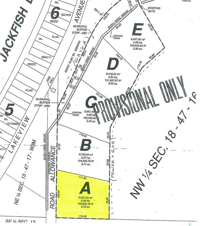 Main Photo: Parcel A-Days Beach Acres-Behind Days Beach in Jackfish Lake: Lot/Land for sale : MLS®# SK859629