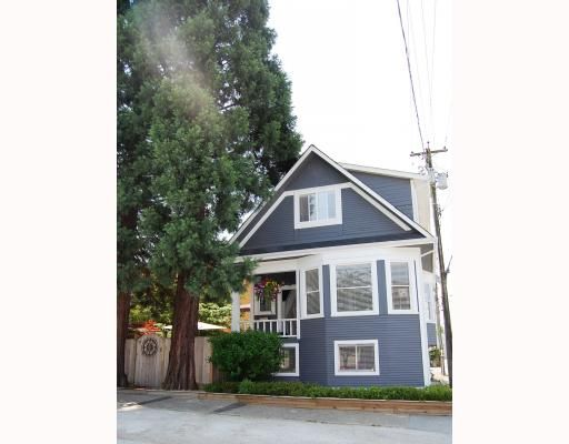 Main Photo: 2227 ALBERTA Street in Vancouver: Mount Pleasant VW House for sale (Vancouver West)  : MLS®# V771743