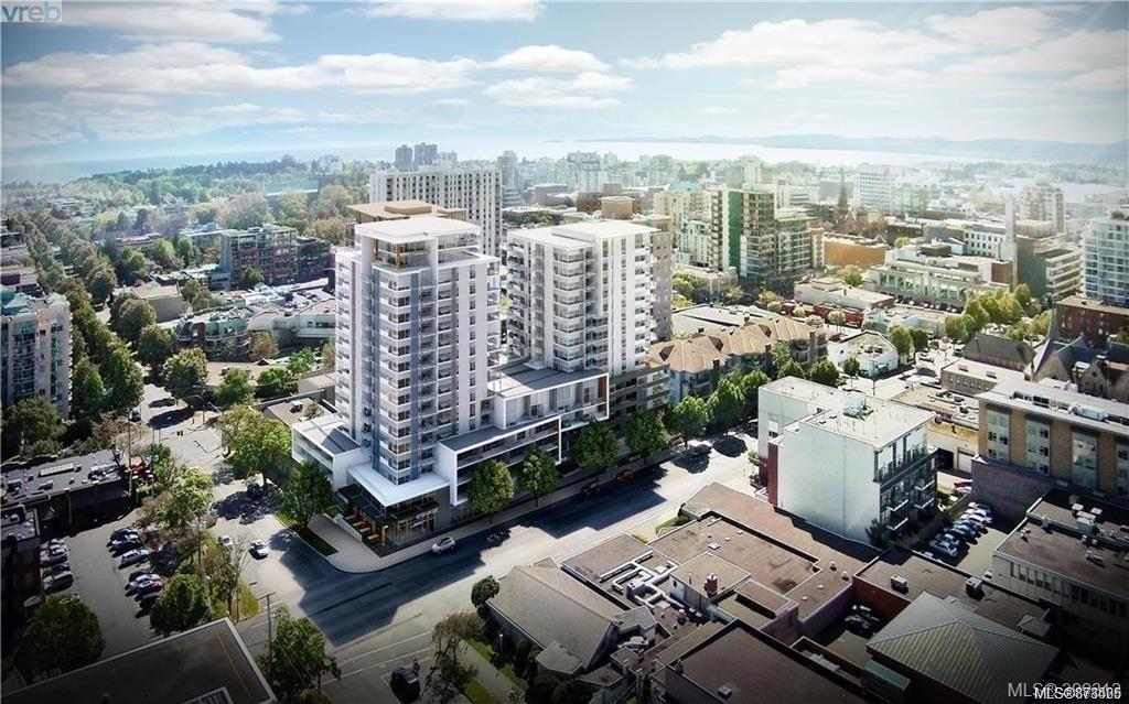 Main Photo: 1001W 989 Johnson St in : Vi Downtown Condo for sale (Victoria)  : MLS®# 878425