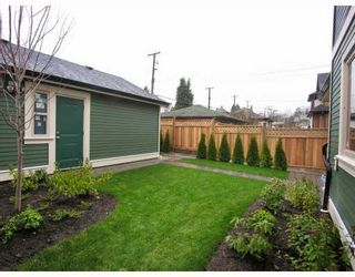 Photo 10: 1196 E 11TH Avenue in Vancouver: Mount Pleasant VE 1/2 Duplex for sale (Vancouver East)  : MLS®# V756717