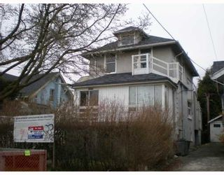 Photo 1: 2525 W 7TH Avenue in Vancouver: Kitsilano House for sale (Vancouver West)  : MLS®# V756860