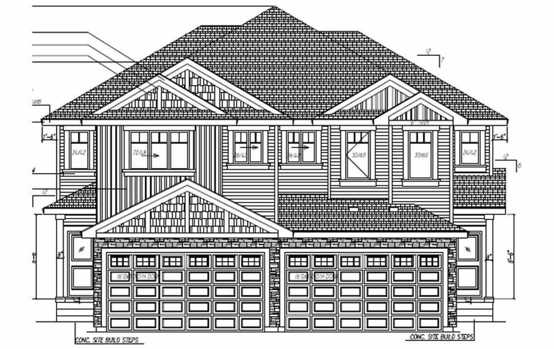 Main Photo: 17546 65A Street NW in Edmonton: Zone 03 House Half Duplex for sale : MLS®# E4243389
