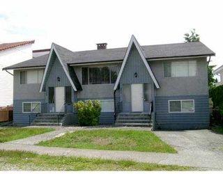 Main Photo: 6988 6990 WAVERLEY Avenue in Burnaby: Metrotown Duplex for sale (Burnaby South)  : MLS®# V656106