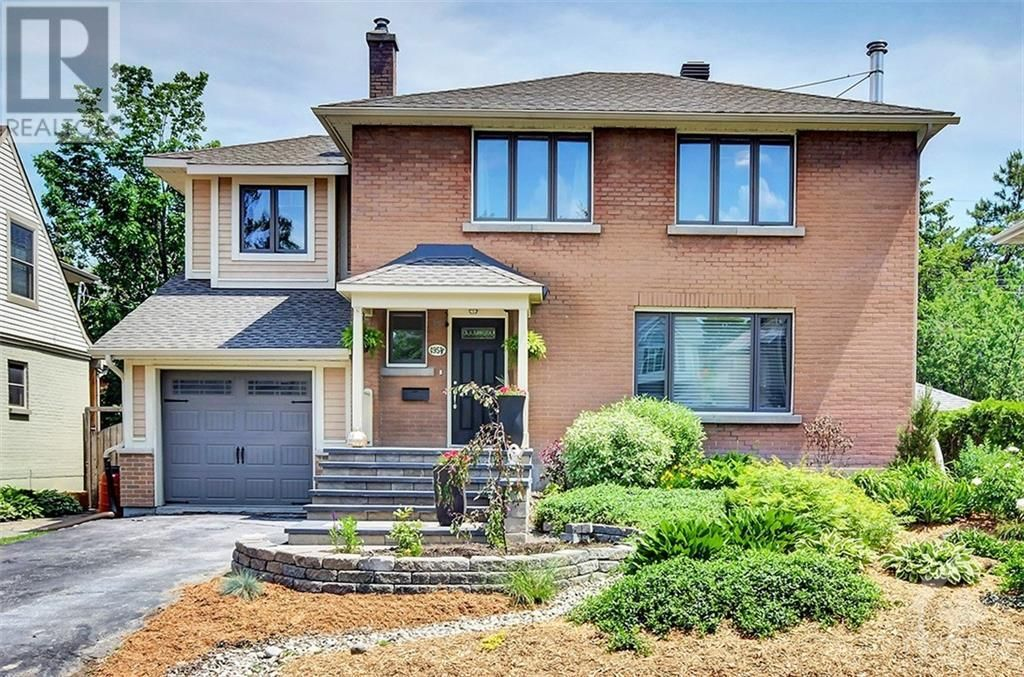 Main Photo: 495 MANSFIELD AVENUE in Ottawa: House for sale : MLS®# 1257732