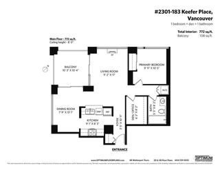 Photo 36: 2301 183 KEEFER Place in Vancouver: Downtown VW Condo for sale (Vancouver West)  : MLS®# R2604500