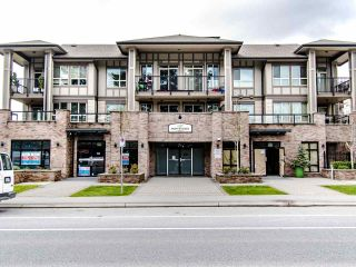 "Photo 1: 207 8695 160 Street in Surrey: Fleetwood Tynehead Condo for sale in ""MONTEROSSO"" : MLS®# R2442020"